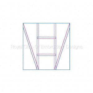 Royal Club Of Embroidery Designs - Machine Embroidery Patterns In The Hoop Quilt Block Piecing 3 Set