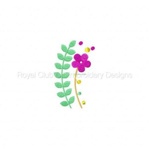 Royal Club Of Embroidery Designs - Machine Embroidery Patterns Jacobean Colors 2 Set