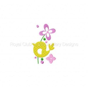 Royal Club Of Embroidery Designs - Machine Embroidery Patterns Jacobean Colors Set