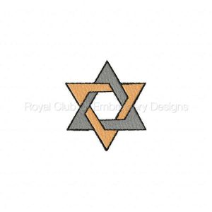Royal Club Of Embroidery Designs - Machine Embroidery Patterns Jewish Set
