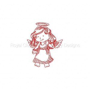 Royal Club Of Embroidery Designs - Machine Embroidery Patterns JN Devils and Angels Set