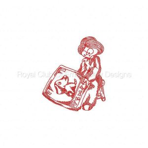 Royal Club Of Embroidery Designs - Machine Embroidery Patterns JN Grandma Quilting Set