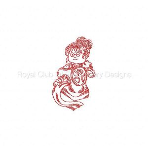 Royal Club Of Embroidery Designs - Machine Embroidery Patterns JN Grandma Sewing Set