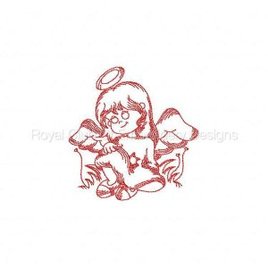 Royal Club Of Embroidery Designs - Machine Embroidery Patterns JN Little Angels 3 Set