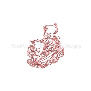 Royal Club Of Embroidery Designs - Machine Embroidery Patterns JN Noahs Ark Set