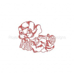 Royal Club Of Embroidery Designs - Machine Embroidery Patterns JN Sewing Set