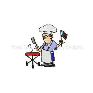 Royal Club Of Embroidery Designs - Machine Embroidery Patterns DD July 4th Set