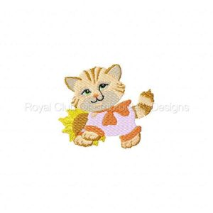 Royal Club Of Embroidery Designs - Machine Embroidery Patterns Kitties in the Dell Set
