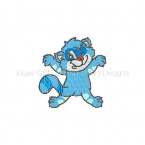 Royal Club Of Embroidery Designs - Machine Embroidery Patterns DD Kitty Come Down Set