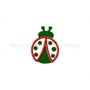 Royal Club Of Embroidery Designs - Machine Embroidery Patterns Ladybug Beads and Things Set