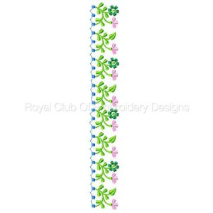 Royal Club Of Embroidery Designs - Machine Embroidery Patterns Linens 2 Set