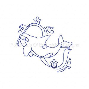 Royal Club Of Embroidery Designs - Machine Embroidery Patterns Little Orcas Set
