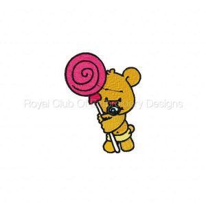Royal Club Of Embroidery Designs - Machine Embroidery Patterns DD Lollipop Babies Set