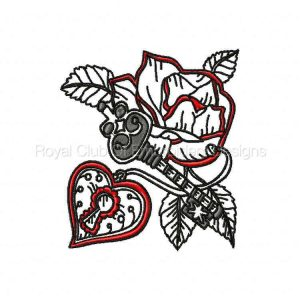 Royal Club Of Embroidery Designs - Machine Embroidery Patterns Love is the Key Set