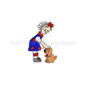 Royal Club Of Embroidery Designs - Machine Embroidery Patterns DD Love Those Raggedies Set