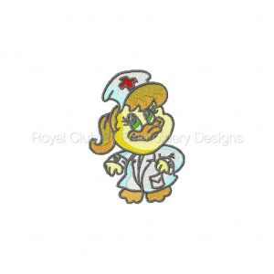 Royal Club Of Embroidery Designs - Machine Embroidery Patterns DD Medical Duckies Set