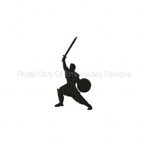 Royal Club Of Embroidery Designs - Machine Embroidery Patterns Medieval Silhouettes Set
