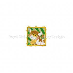 Royal Club Of Embroidery Designs - Machine Embroidery Patterns Mini Farm Blocks Set
