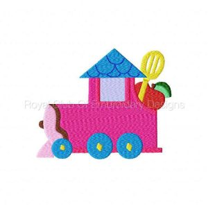 Royal Club Of Embroidery Designs - Machine Embroidery Patterns Modular Kitchen Trains Set