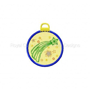 Royal Club Of Embroidery Designs - Machine Embroidery Patterns More FSL Ornaments Set