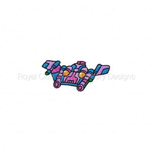 Royal Club Of Embroidery Designs - Machine Embroidery Patterns More Space Ships Set