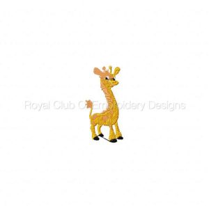 Royal Club Of Embroidery Designs - Machine Embroidery Patterns My Safari Set