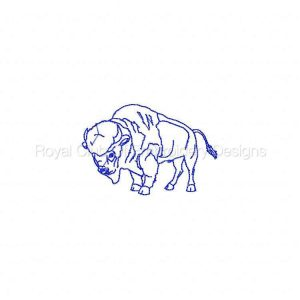 Royal Club Of Embroidery Designs - Machine Embroidery Patterns Native American Buffalo Spirit Set