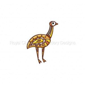 Royal Club Of Embroidery Designs - Machine Embroidery Patterns Native Australia Set