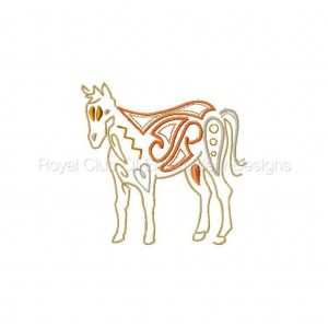 Royal Club Of Embroidery Designs - Machine Embroidery Patterns Native Farm Animals Set