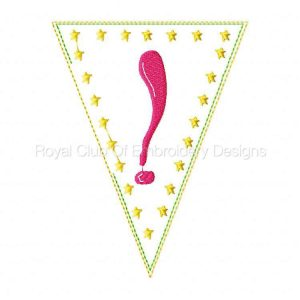 Royal Club Of Embroidery Designs - Machine Embroidery Patterns Happy New Year Banner Set