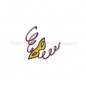 Royal Club Of Embroidery Designs - Machine Embroidery Patterns New Years Set