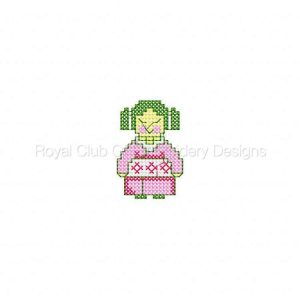 Royal Club Of Embroidery Designs - Machine Embroidery Patterns Oriental Kids Set