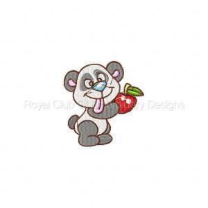 Royal Club Of Embroidery Designs - Machine Embroidery Patterns Pandas Set