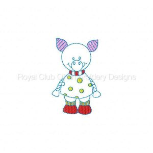 Royal Club Of Embroidery Designs - Machine Embroidery Patterns Partially Filled Farm Friends Set