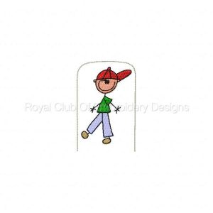 Royal Club Of Embroidery Designs - Machine Embroidery Patterns Play House Family Set