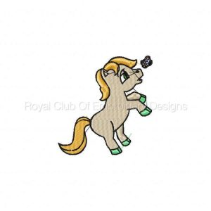 Royal Club Of Embroidery Designs - Machine Embroidery Patterns Ponies Set