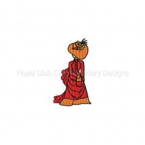 Royal Club Of Embroidery Designs - Machine Embroidery Patterns Red Hats Set