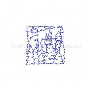 Royal Club Of Embroidery Designs - Machine Embroidery Patterns Redwork German Blocks Set