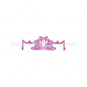 Royal Club Of Embroidery Designs - Machine Embroidery Patterns Royal Embellishments Set