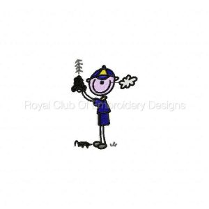 Royal Club Of Embroidery Designs - Machine Embroidery Patterns Cub Scouts Set
