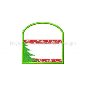 Royal Club Of Embroidery Designs - Machine Embroidery Patterns In The Hoop Christmas Gift Card Holders Set