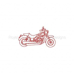 Royal Club Of Embroidery Designs - Machine Embroidery Patterns RW Bikes Set