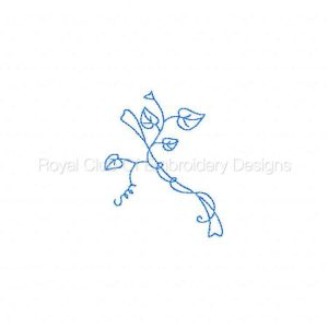 Royal Club Of Embroidery Designs - Machine Embroidery Patterns RW Fall Leaves Set