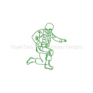 Royal Club Of Embroidery Designs - Machine Embroidery Patterns RW Soldiers Set
