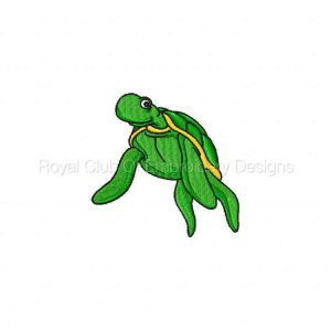 Royal Club Of Embroidery Designs - Machine Embroidery Patterns Sea Friends Set
