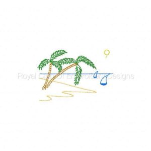 Royal Club Of Embroidery Designs - Machine Embroidery Patterns Seaside Fun Set