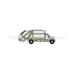 Royal Club Of Embroidery Designs - Machine Embroidery Patterns Service Vehicles Set