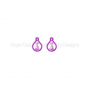 Royal Club Of Embroidery Designs - Machine Embroidery Patterns Knitting and Sewing Earrings Set
