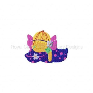 Royal Club Of Embroidery Designs - Machine Embroidery Patterns Sleepy Fairy Set
