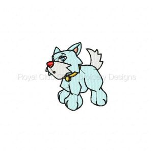 Royal Club Of Embroidery Designs - Machine Embroidery Patterns So Cool Animals Set